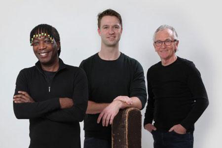 """Trio Bauke van der Woude met """"Teare Ferskers"""""""