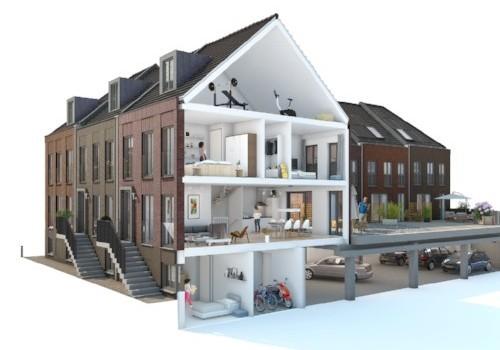 """Attiek met: """" Inbreiden in de Stad:  dé uitdaging voor de architect. """" Als locatie de KOPERENTUIN!"""