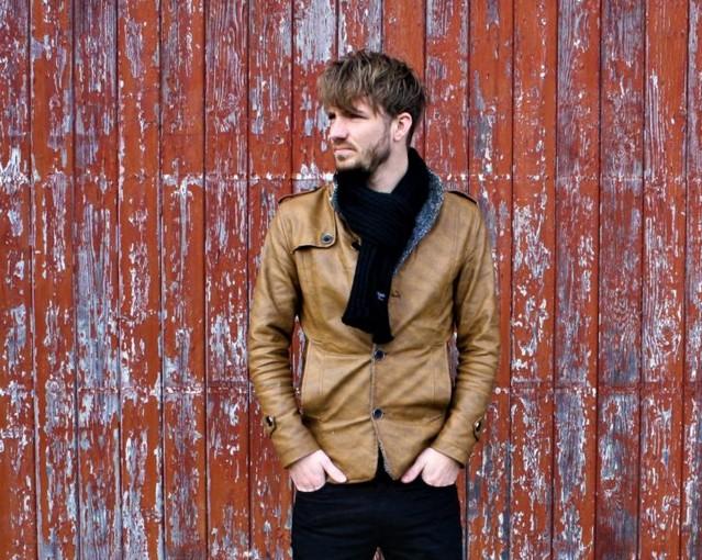 Singer/songwriter Murk Aukema en band