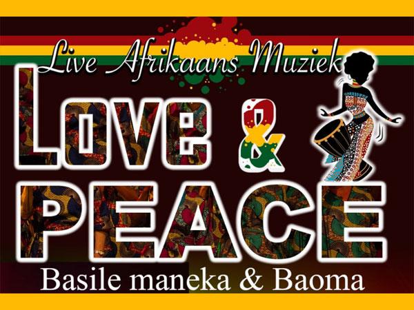 Live Afrikaanse muziek - Love & Peace (WORDT VERPLAATST)