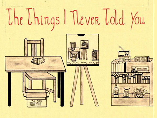 """TIM HONNEF  - """"The Things I Never Told You"""" (streaming voorstelling)"""