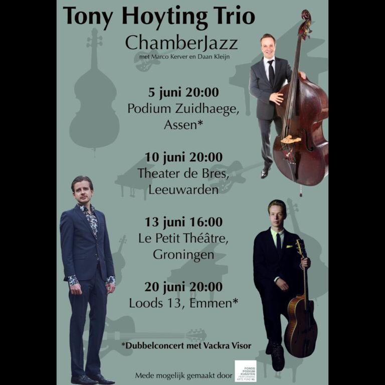 Vackra Visor - Stockholm Jazz Connection en het Tony Hoyting Trio. ( Chamber Jazz)